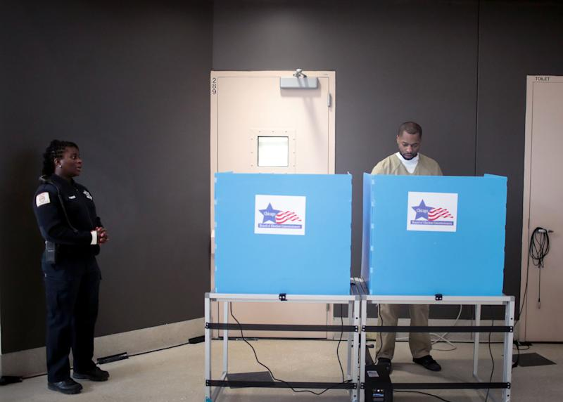 Whether or Not You're Able to Vote in Jail May Come Down to Where You're Incarcerated