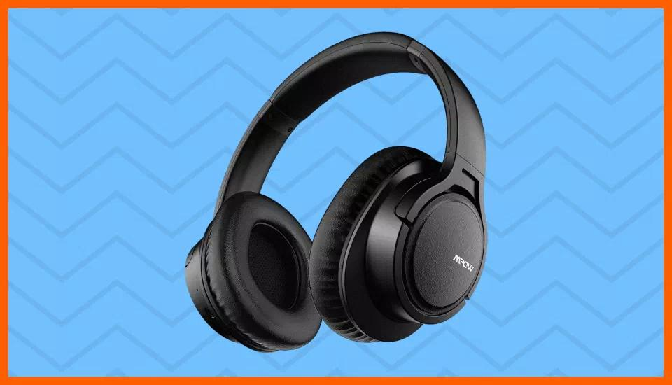 Only $20 for these cushy Mpow H7 Bluetooth Headphones. (Photo: Amazon)