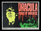 <p>DRACULA: PRINCE OF DARKNESS (1966) - UK Quad, 1966 est. £600 - £800 (Prop Store)</p>
