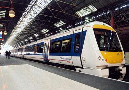 A man reportedly pulled a knife on a conductor on the London-bound train