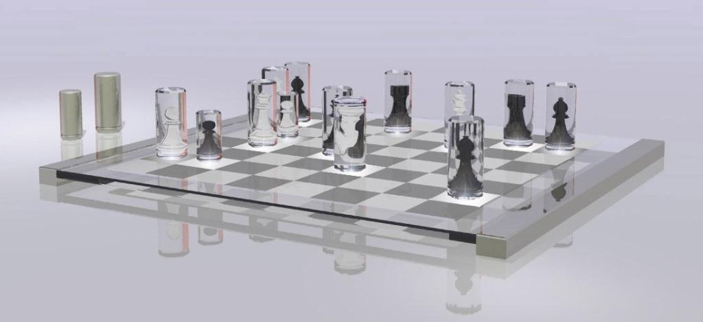 """<p class=""""normal""""><b>Alice chess set</b></p>  <p class=""""normal"""">Curiouser and curiouser. This artsy, Alice-in-Wonderland-themed chess set has mirrored playing pieces that turn transparent when they're placed on the board. In the words of its creator, it's """"a comment on how a chess piece has no value unless it is in play on the board."""" In the words of everyone else, """"How do you tell which piece is which?"""" (Image credit: Yasmin Sethie)</p>"""