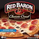 """<p>The words of one of our tasters summarizes this pizza best: """"It tastes better than it looks."""" Though this pie is definitely not a looker, the tangy, fresh-tasting sauce, perfectly thick crust, and flavorful pepperoni will actually make you think you've gotten delivery. </p>"""
