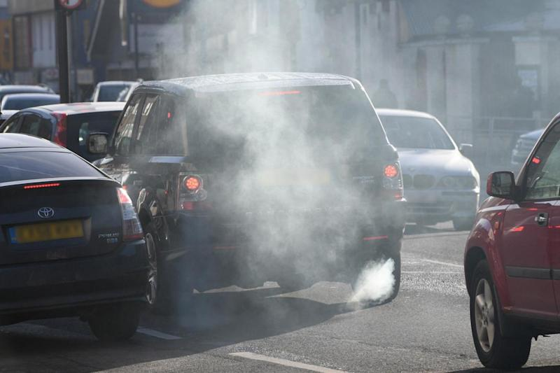 Pollution: London has high levels of toxic air (Jeremy Selwyn)