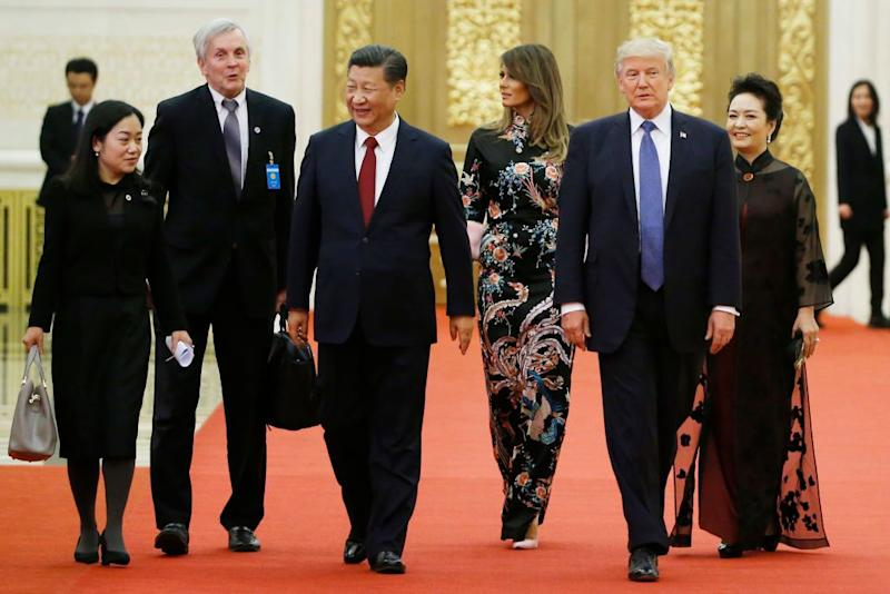 John Kelly, Chinese Officials Clash During Trump's China Visit