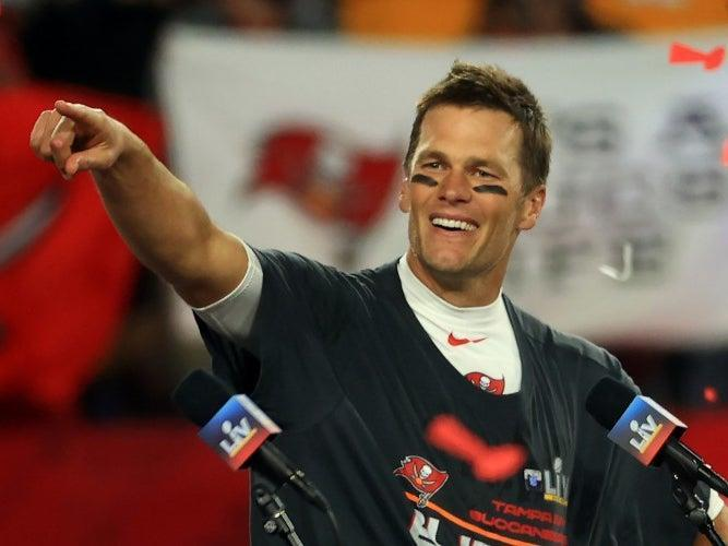 El mariscal de campo de los Tampa Bay Buccaneers Tom Brady (Getty Images)