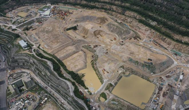 The Anderson Road quarry site in Kwun Tong. Photo: Martin Chan