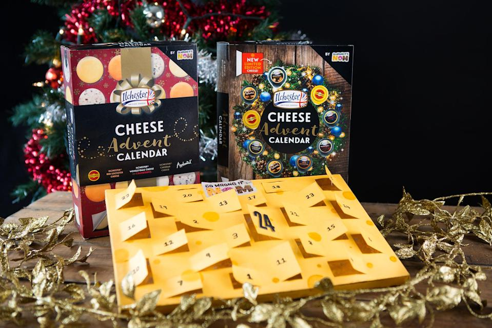Who needs chocolate when you can have cheese? [Photo: So Wrong It's Nom]