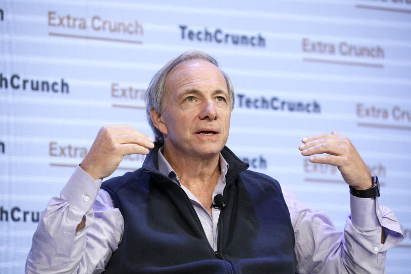 SAN FRANCISCO, CALIFORNIA - OCTOBER 02: Bridgewater Associates Founder & Co-Chairman/Co-CIO Ray Dalio speaks onstage during TechCrunch Disrupt San Francisco 2019 at Moscone Convention Center on October 02, 2019 in San Francisco, California. (Photo by Kimberly White/Getty Images for TechCrunch)