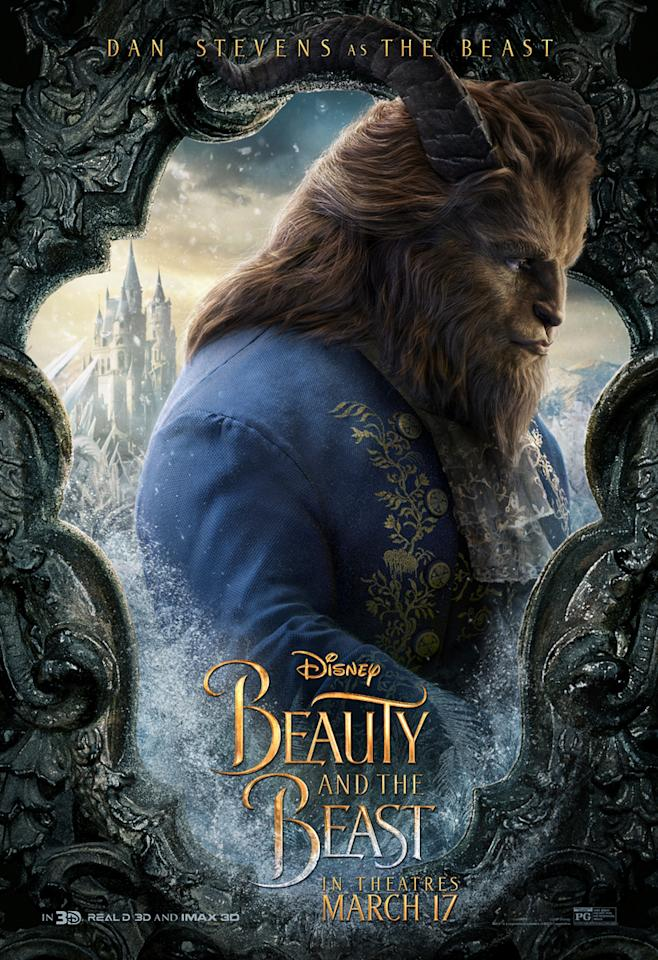 <p>Dan Stevens as The Beast. A horrific Beast locked away in a castle of his own trapping, The Beast is played by Dan Stevens. </p>