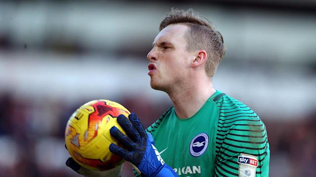 Alex Pritchard twice forced own goals from David Stockdale as Brighton's Championship title bid faltered at Norwich on Friday.