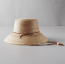 """<p>Anthropologie</p><p><strong>$58.00</strong></p><p><a href=""""https://go.redirectingat.com?id=74968X1596630&url=https%3A%2F%2Fwww.anthropologie.com%2Fshop%2Fabby-hat%3Fcolor%3D000%26size%3DOne%2BSize%26inventoryCountry%3DUS%26countryCode%3DUS%26type%3DSTANDARD%26quantity%3D1&sref=https%3A%2F%2Fwww.womansday.com%2Fhome%2Fg36366935%2Fgardening-gifts%2F"""" rel=""""nofollow noopener"""" target=""""_blank"""" data-ylk=""""slk:Shop Now"""" class=""""link rapid-noclick-resp"""">Shop Now</a></p><p>Hot days in the garden require a quality hat for sun protection. Customers praised this one for how sturdy and stylish it is, making it appropriate for an afternoon of yard work or a relaxing day on the boat.</p>"""