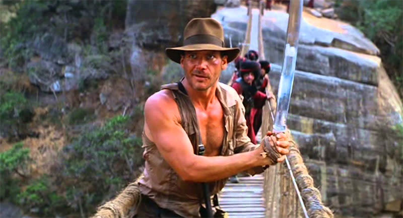 Indiana Jones and the Temple of Doom (Credit: Paramount)