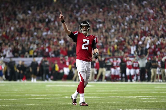 Matt Ryan once again was terrific as the Atlanta Falcons advanced to their first Super Bowl appearance in nearly 18 years. (Getty Images)