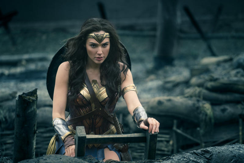 Gal Gadot is Wonder Woman (credit: Warner Bros)