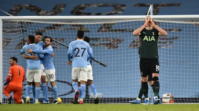 The defeat was Tottenham's fourth in five Premier League games