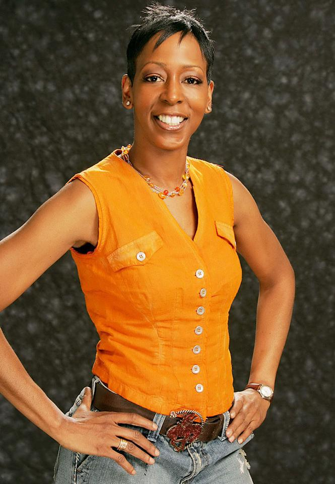 caption: Monica Bailey, 46, a hostess from Brooklyn, New York competes in Big Brother: All-Stars, the seventh installment of the reality series on CBS.