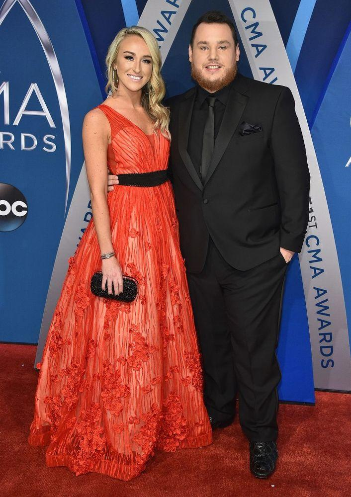 Luke combs crosses off two bucket list items and theyre both classics nicole hocking and luke combs m4hsunfo