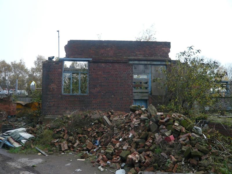<strong>Piles of rubbles at the historic factory</strong> (The Victorian Society)