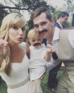 """<p>Despite playing a high school teenager, Heather Morris was actually 22 when she joined the cast of <em>Glee</em>. She had her first son at the age of 26, while still filming the show, and now has <a href=""""https://www.usmagazine.com/celebrity-moms/news/heather-morris-opens-up-about-sons/"""" rel=""""nofollow noopener"""" target=""""_blank"""" data-ylk=""""slk:two kids with her husband Taylor Hubbell"""" class=""""link rapid-noclick-resp"""">two kids with her husband Taylor Hubbell</a>—Elijah Beck, born in September 2013 and Owen Bartlett, born in February 2016.</p>"""