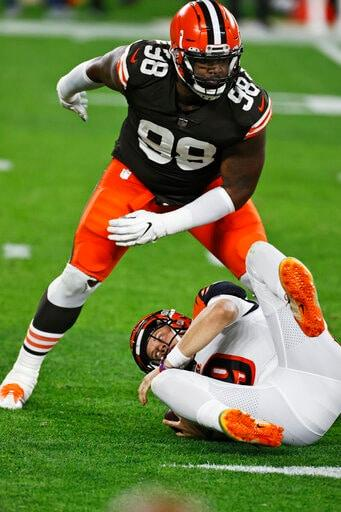 Burrow Sharp In Second NFL Start But Bengals Lose To Browns