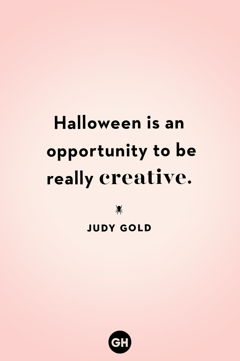 <p>Halloween is opportunity to be really creative.</p>