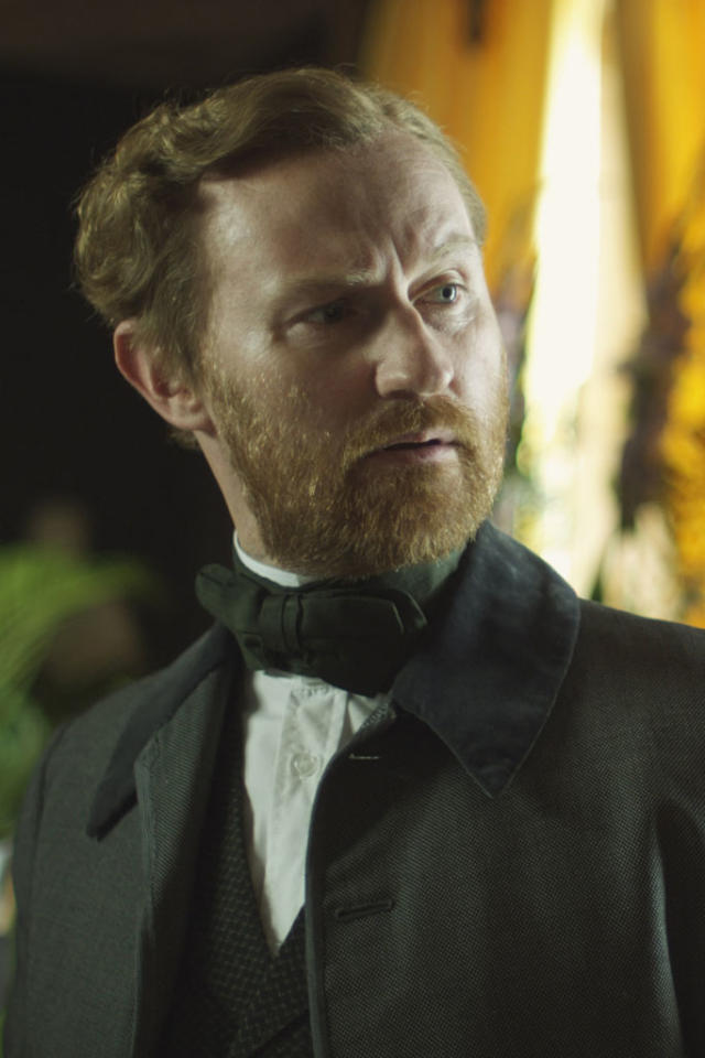 """Mark Gatiss as Henry Rackham in """"The Crimson Petal and the White"""" on Encore."""