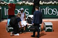 Painful end for Ashleigh Barty