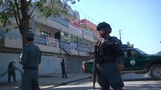 <p>Taliban suicide car bomber kills at least 24 in Afghan capital</p>