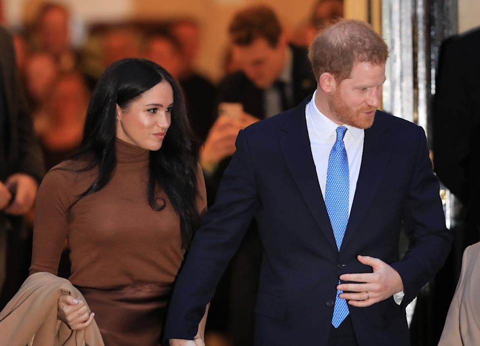 Prince Harry and Meghan Markle  (Photo: PA Wire/PA Images)