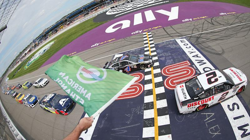 Nascar Lineup At Michigan Starting Order Pole For Saturday S Race Without Qualifying