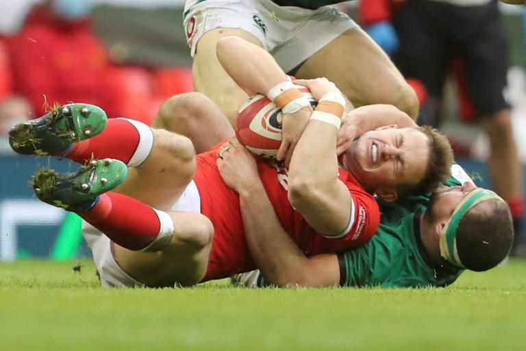 Wales beat Ireland 21-16 in a physical Six Nations battle in Cardiff