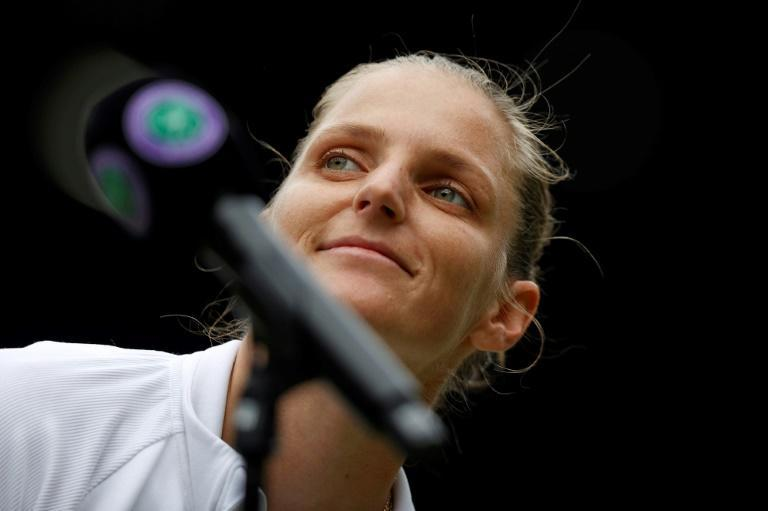 Karolina Pliskova will play world number one Ashleigh Barty in the women's Wimbledon final a first for both players