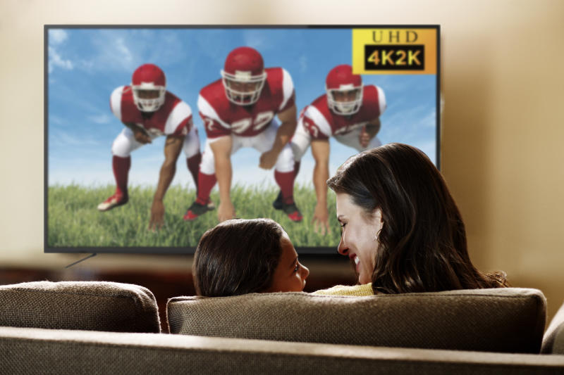 Gather the family around this Ultra HD LED TV from RCA. (Photo: Walmart)