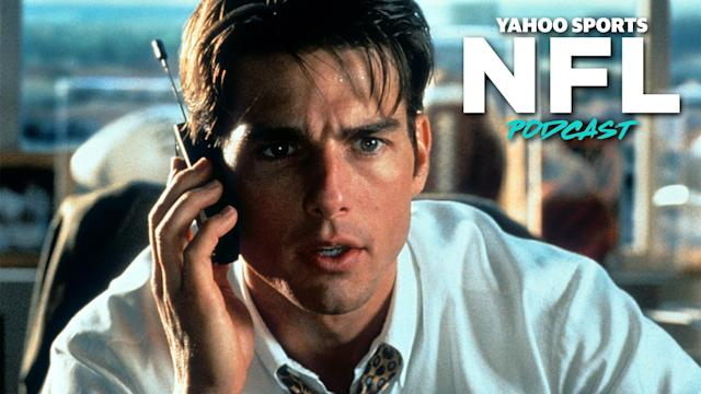 Terez Paylor and Charles Robinson debate whether Jerry Maguire was a good sports agent on the latest Yahoo Sports NFL Podcast. (Photo by TriStar/Getty Images)