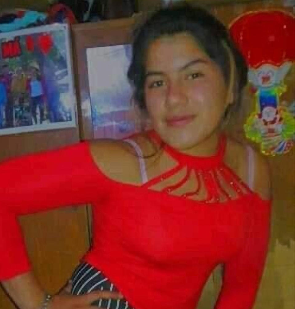 Rocio Magali Vera, 14, was found dead by her brother who looked for her for two days. Source: CEN/Australscope