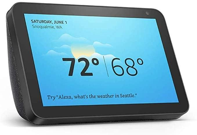 <p>Keep in touch with family members, ask questions, watch the news, listen to music, and more with the <span>Certified Refurbished Echo Show 8</span> ($70, originally $105). It's the personal assistant you never knew you needed. Plus, you can control your smart home and more!</p>