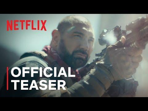 """<p>Zack Snyder really said, """"I'm going to put something on every streaming service this year."""" The film follows the survivors of a zombie apocalypse traveling to a Vegas quarantine zone or supplies. Come for Dave Bautista. Stay for Tig Notaro. Oh, and please don't pet the zombies.</p><p><a class=""""link rapid-noclick-resp"""" href=""""https://www.netflix.com/watch/81046394?trackId=251117831&tctx=2%2C2%2C71f86ade-102c-4bc3-be26-546be04c7b83-63247681%2C7e2c0479-bbc4-4ad3-bd99-084d9accc4ca_103769580X54XX1629488232382%2C%2C"""" rel=""""nofollow noopener"""" target=""""_blank"""" data-ylk=""""slk:Watch Now"""">Watch Now</a></p><p><a href=""""https://www.youtube.com/watch?v=H83kjG5RCT8"""" rel=""""nofollow noopener"""" target=""""_blank"""" data-ylk=""""slk:See the original post on Youtube"""" class=""""link rapid-noclick-resp"""">See the original post on Youtube</a></p>"""
