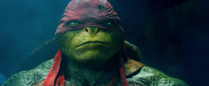 Raphael in Teenage Mutant Ninja Turtles (Credit: Paramount)