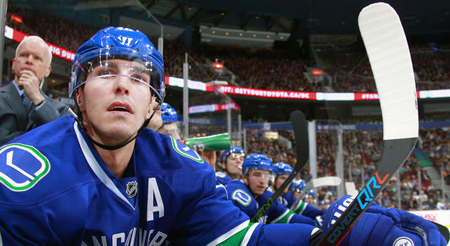 "Alex Burrows had himself a very fine NHL career. (Jeff Vinnick/NHLI via Getty Images)""n"