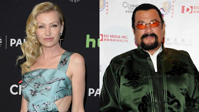 Portia de Rossi Claims She Was Sexually Harassed by Steven Seagal in Audition: 'He Unzipped His Leather Pants'