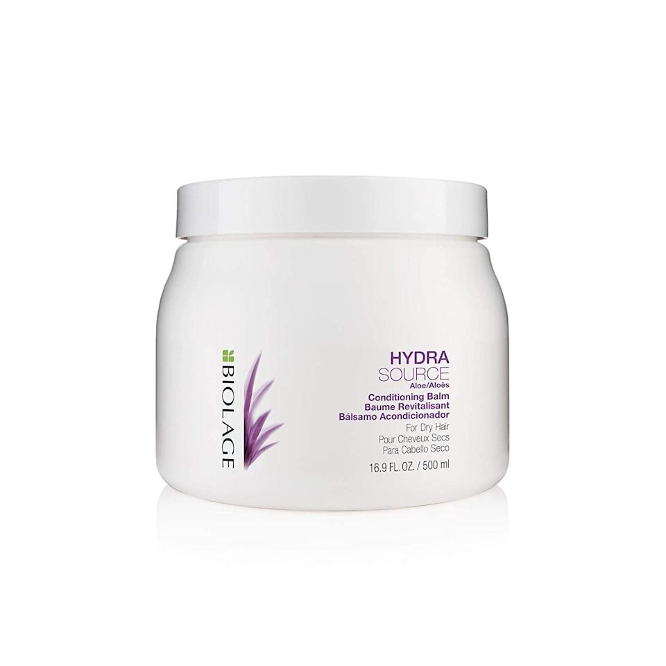 <p><span>Biolage Hydrasource Conditioning Balm For Dry Hair</span> ($21, originally $32)</p>
