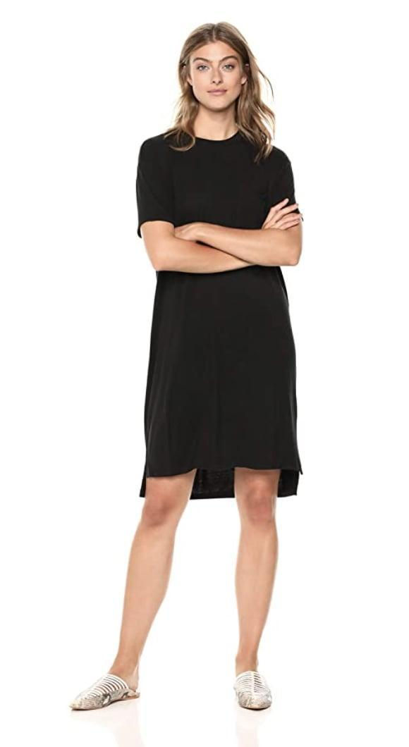 <p>Everyone needs a comfy number like this <span>Daily Ritual Jersey Short-Sleeve T-Shirt Dress</span> ($19) in their closet.</p>