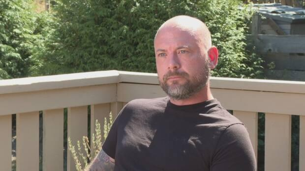 Cory Ronningen's sister died of COVID-19 after choosing not to get immunized against the virus. Despite grieving, he is speaking out in hopes of encouraging more people to get vaccinated. (CBC NEWS - image credit)