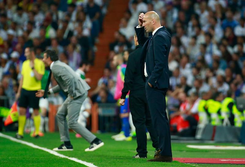 Zidane, Real Madrid - Barcelona, 24042017