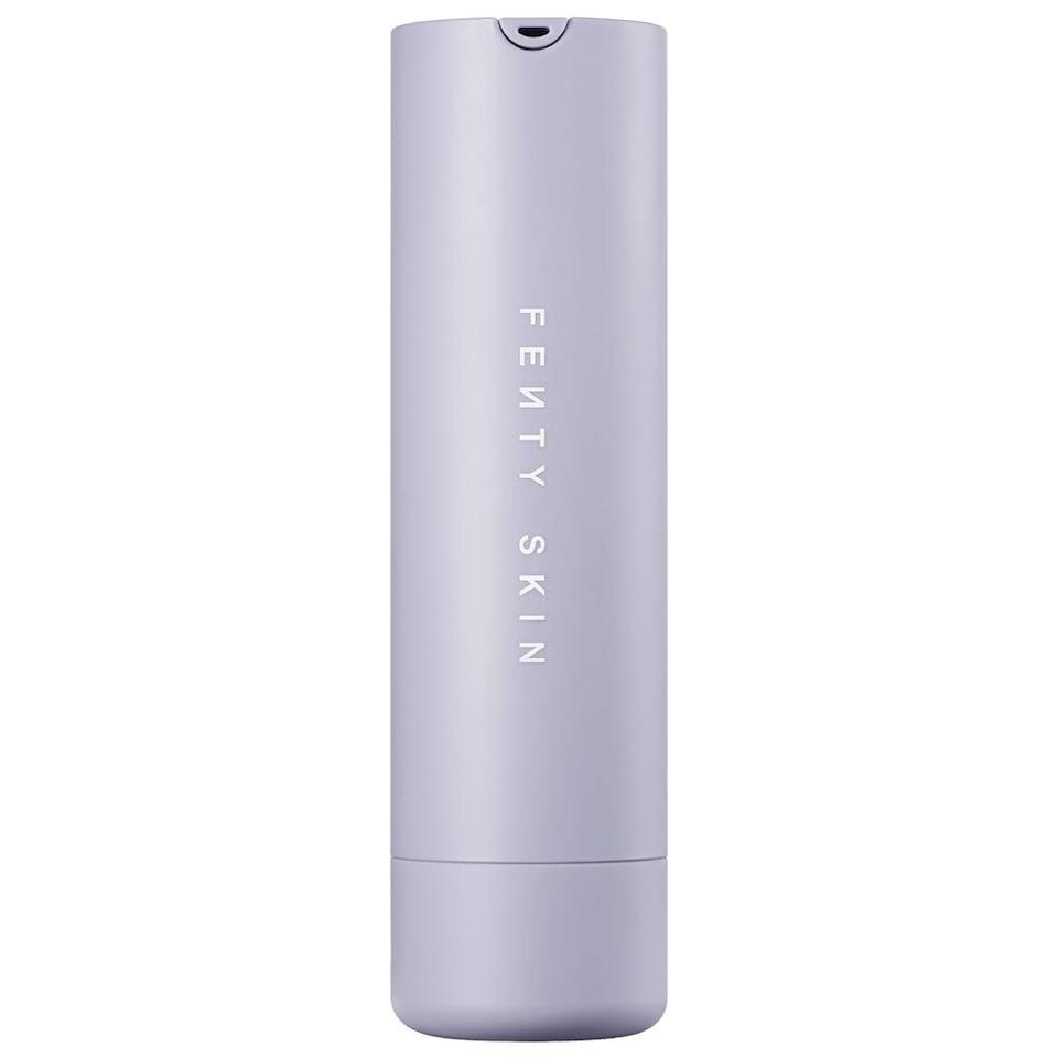 <p>The <span>Fenty Skin Hydra Vizor Invisible Moisturizer Broad Spectrum SPF 30 Sunscreen</span> ($35) won't give you a whitecast and is super moisturizing. </p>