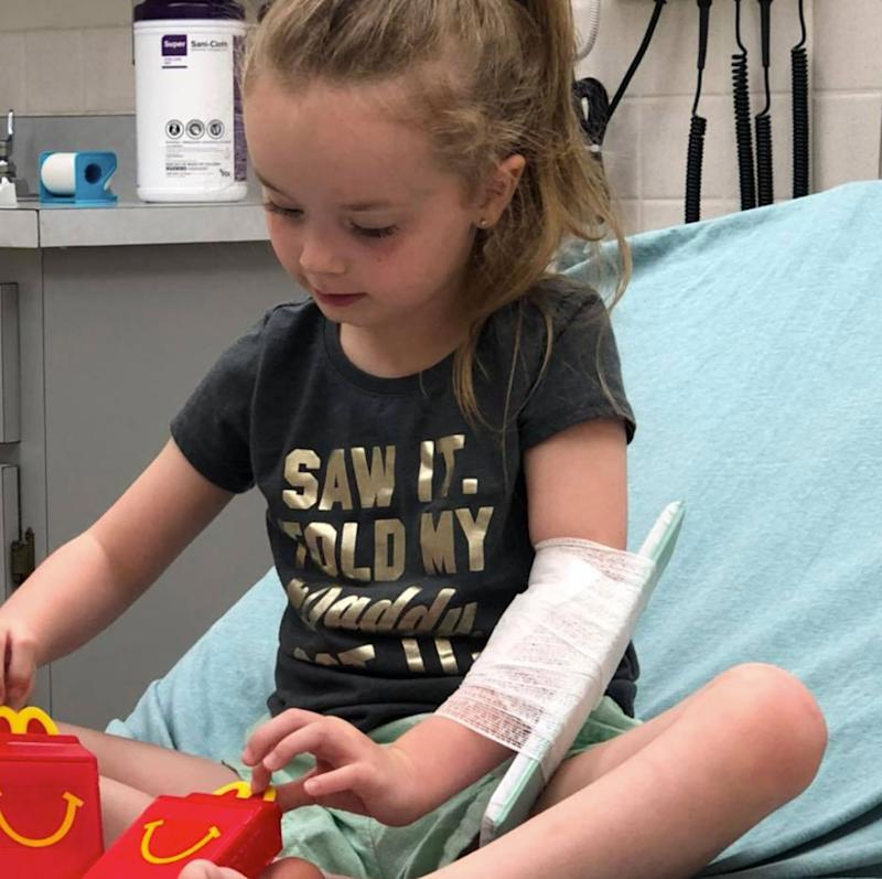 A 5-year-old girl was suddenly paralysed after a tick bite