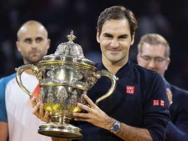 Swiss Indoors: Roger Federer claim his 99th career ATP Tour title with win over Marius Copil in final