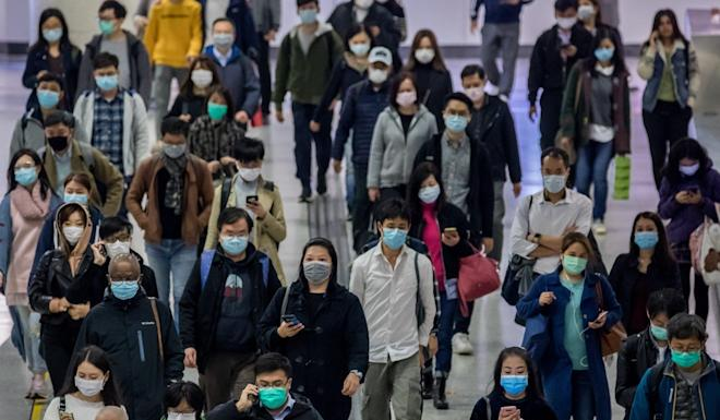 The government will subsidise firms to set up local production lines for making masks. Photo: Bloomberg
