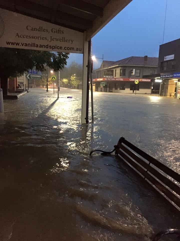 The flooding devastated Endless Candles. Image: Supplied