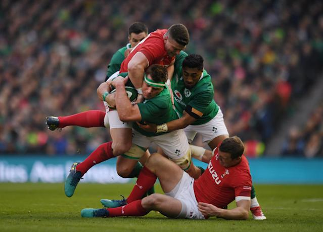 Rugby Union - Six Nations Championship - Ireland vs Wales - Aviva Stadium, Dublin, Republic of Ireland - February 24, 2018 Ireland's CJ Stander in action REUTERS/Clodagh Kilcoyne TPX IMAGES OF THE DAY